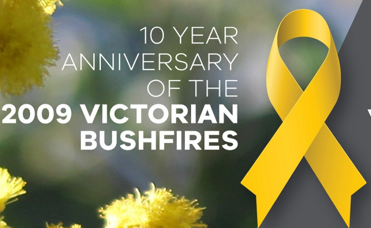 DPV Health counselling supports anniversary of 2009 bushfire disaster
